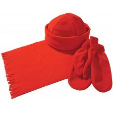 "Набор ""Теплый""  шапка шарф варежки"