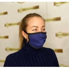 маска двухслойная из хлопка на завязках
