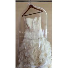 Пластиковый разделитель одежды размер 108*62 см.